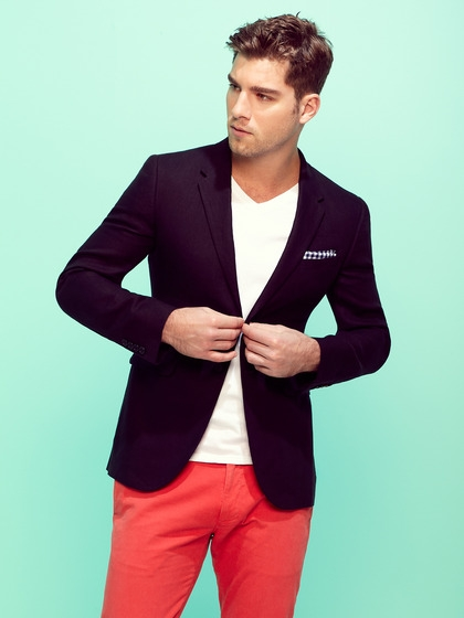 Blazer v Neck Shirt V-neck Shirt With Blazer