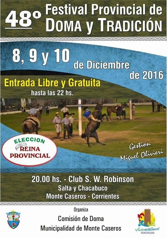 48 Festival Provincial de DOMA y TRADICION