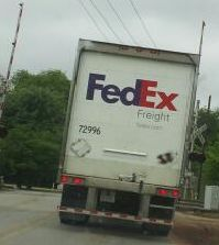 Picture of FedEx Truck