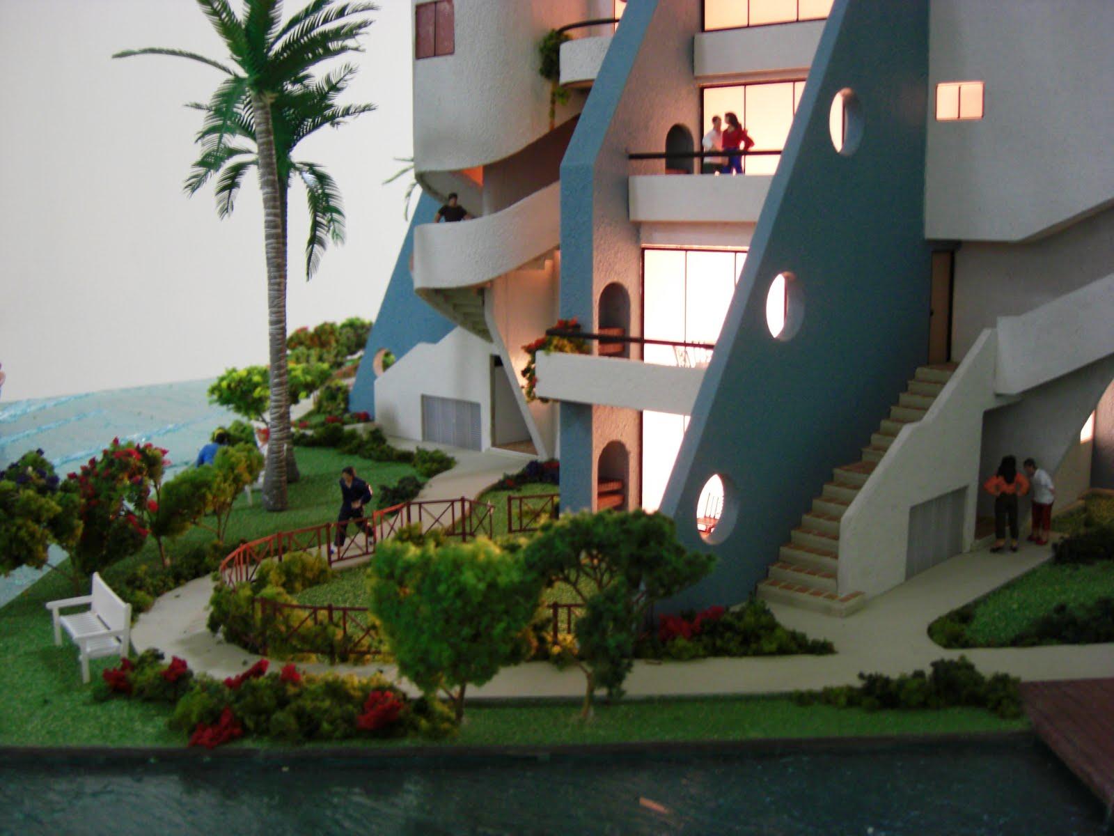 Maqueta de Edificio Modelo. Poblado de Oro