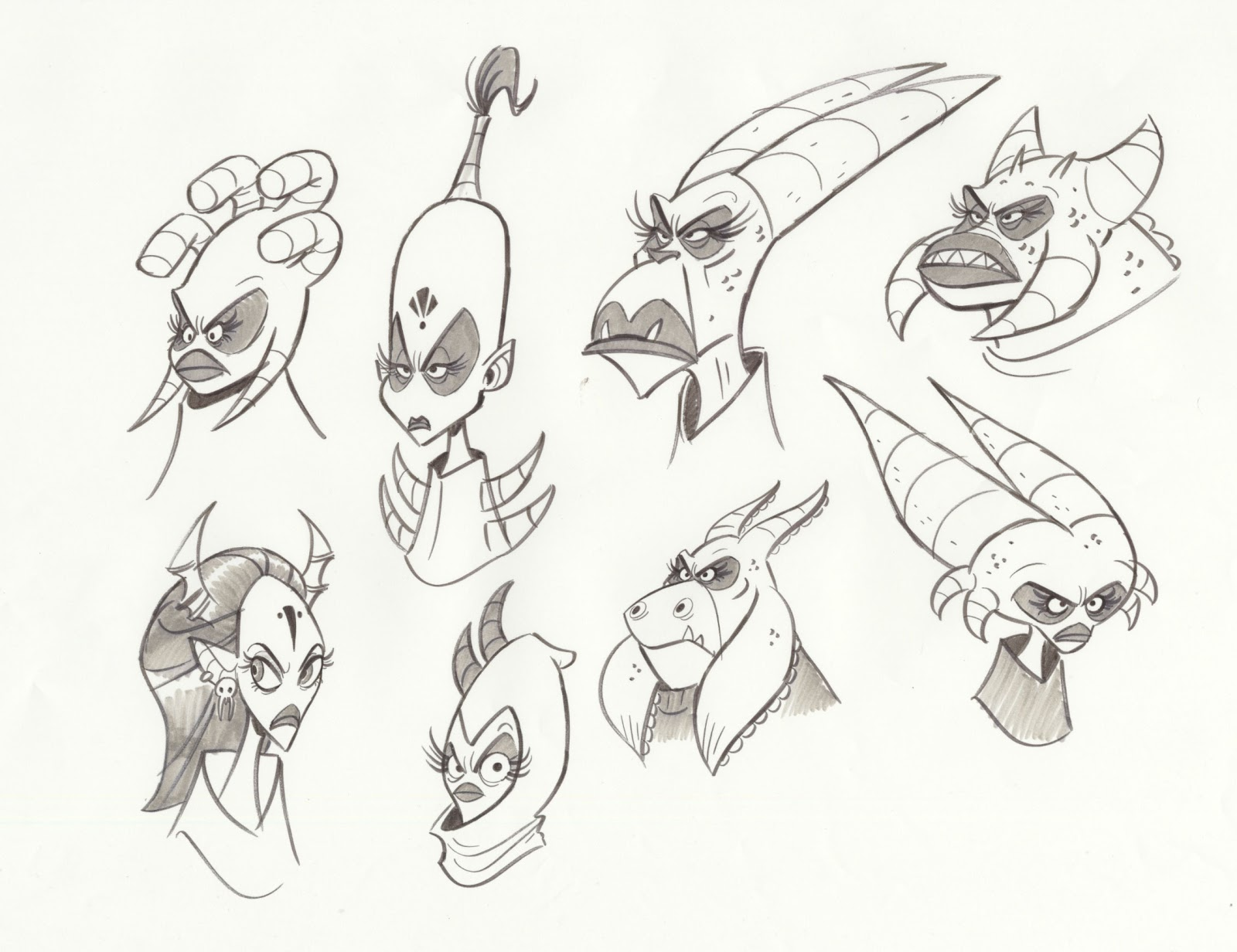 Character Design Generator : Ben balistreri monsters vs aliens tv show