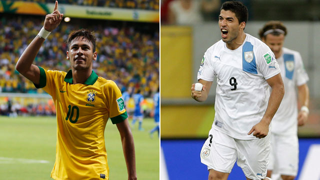 Brasil vs Uruguay online 2013