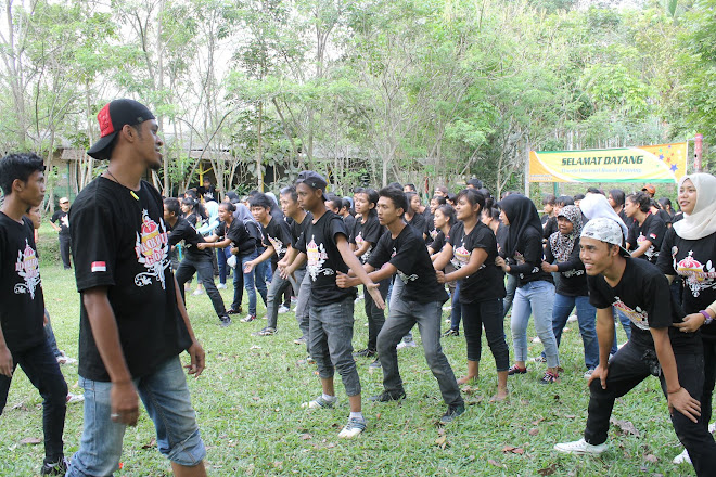 Outbound Mahasiswa di Kaliurang