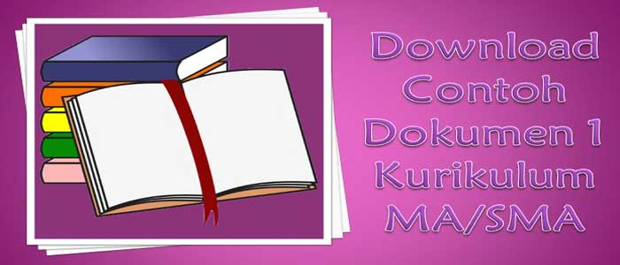 Download Contoh Dokumen 1 Kurikulum MA