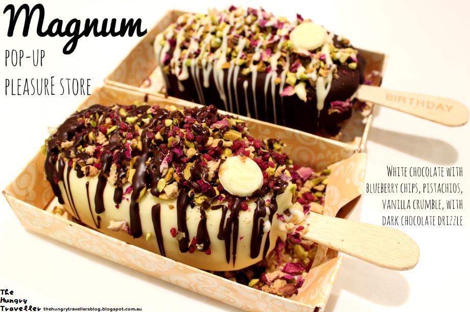 The hungry traveller a melbourne food blog magnum for Magnum pop up shop