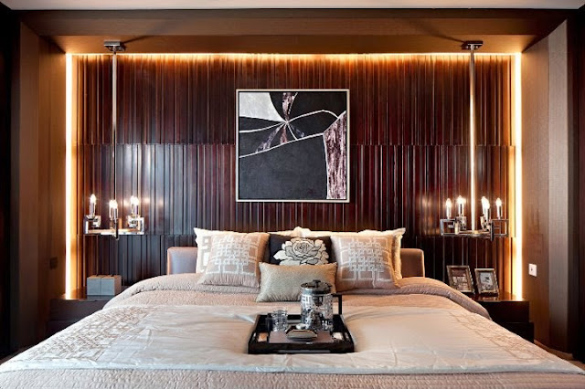 10 الوان زاهية لغرف النوم المودرن