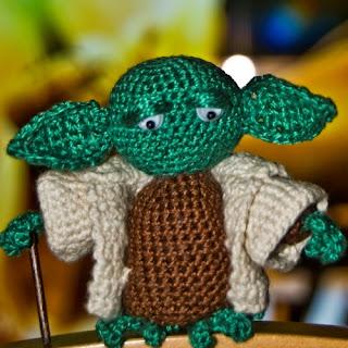 Patrones Amigurumi: Yoda amigurumi