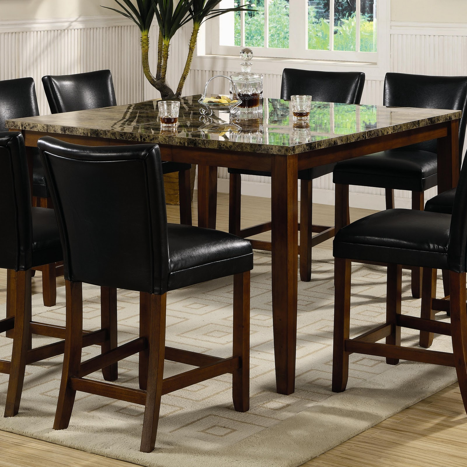 BEST HOME DECORATORS Pub Bar Height Tables Dining Room Furniture