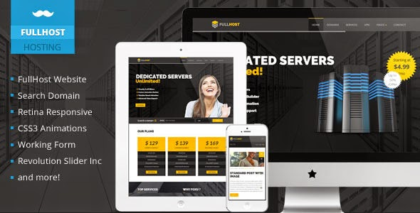 download Fullhost Hosting Responsive Theme