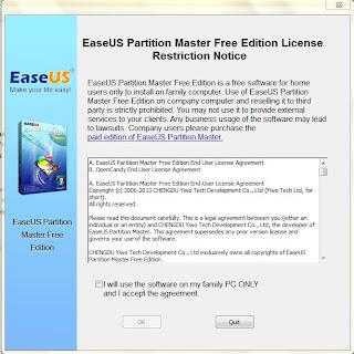 ดาวน์โหลดโปรแกรมฟรี วันนี้ขอเสนอ       EASEUS Partition Master โปรแกรมแบ่งพาร์ทิชันสำหรับวินโดวส์ ที่ใช้งานได้ฟรี