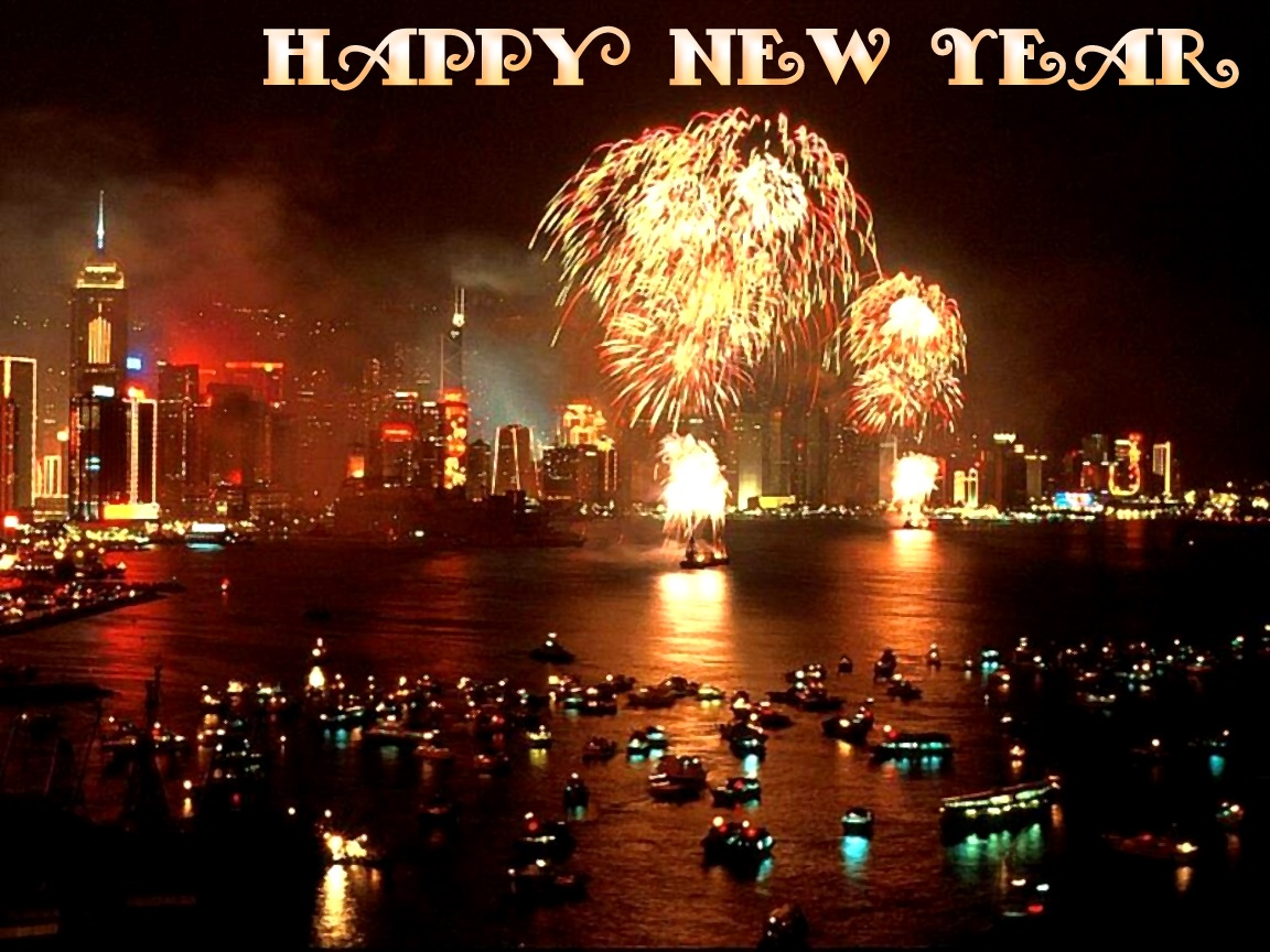 New Year 2014 3D Wallpapers