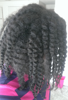 day three twist out