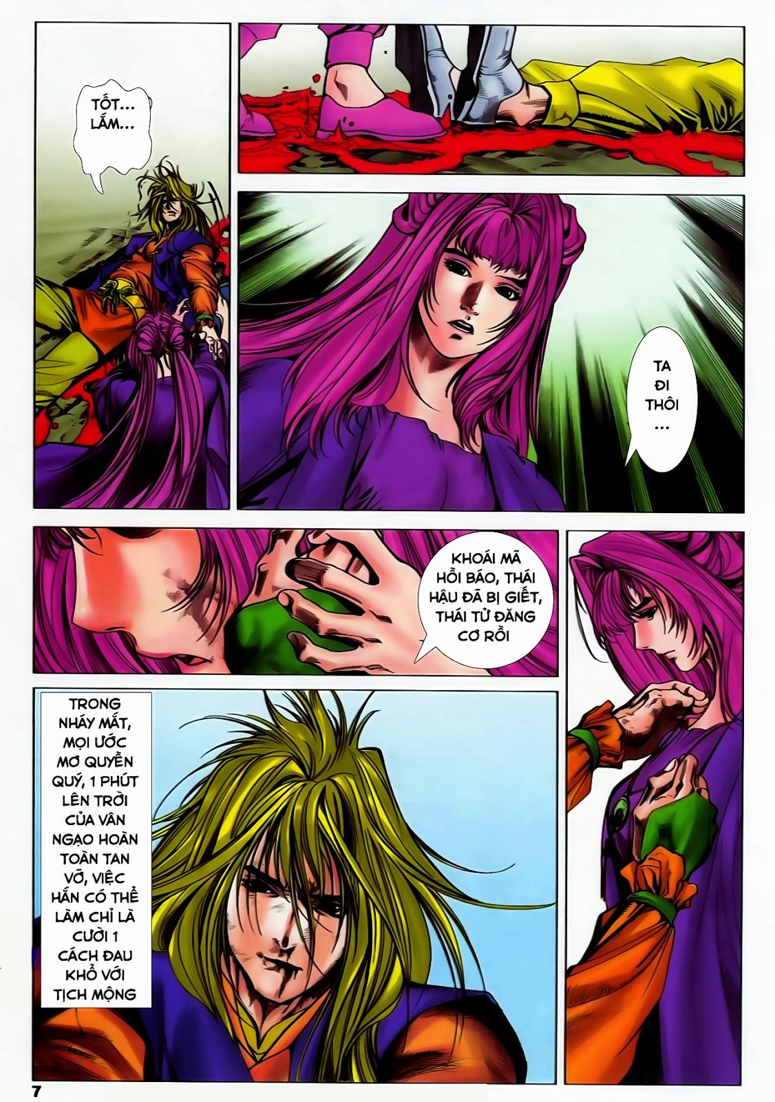 Lục Đạo Thiên Thư chap 37 - Trang 7