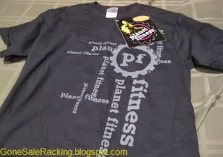 Planet Fitness Free T shirt at sign up