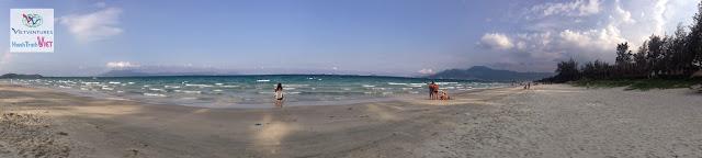 Biển Dốc Lết hãy còn sạch sẽ và vắng vẻ lắm