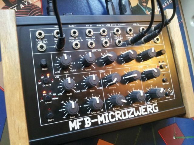 matrixsynth  mfb microzwerg ii