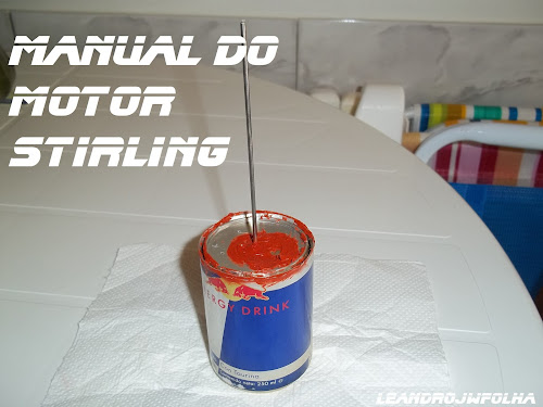 Manual do motor Stirling, pistão deslocador maciço