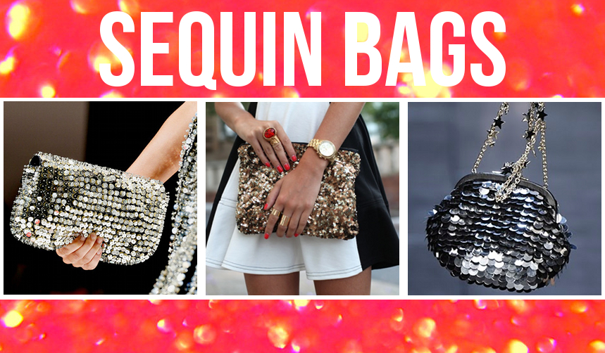 Sequin Bags, Hardcases and Perspex Box Clutches