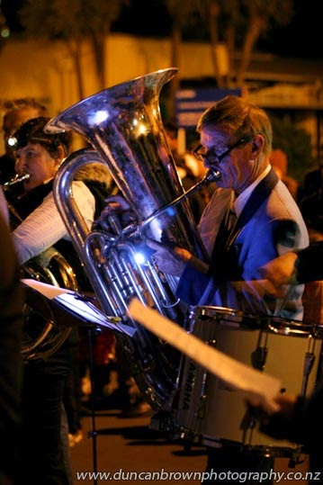 The band played by torchlight photograph