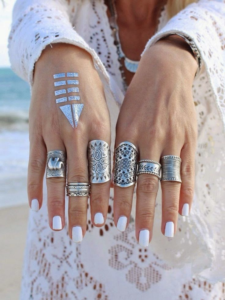 bohemian rings mystique array for fashion poise