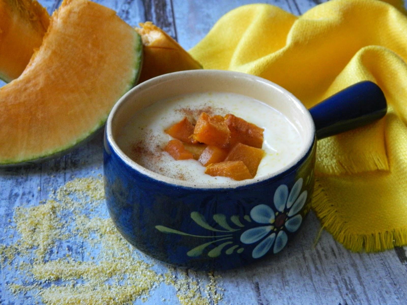 Supa dulce de malai cu dovleac
