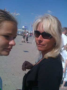mijn dochter en ik
