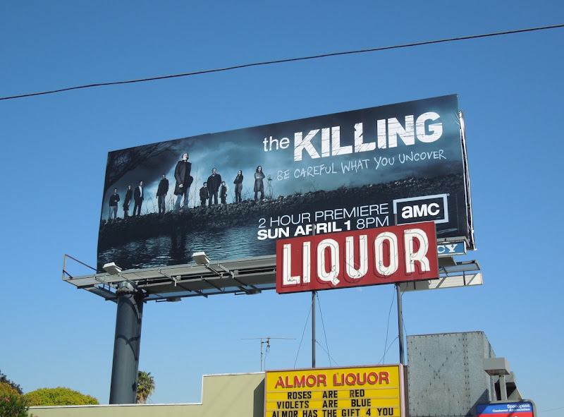 The Killing season 2 TV billboard