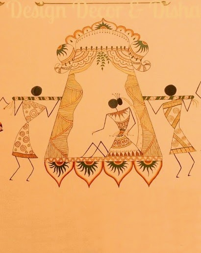 Warli Marriage Scene