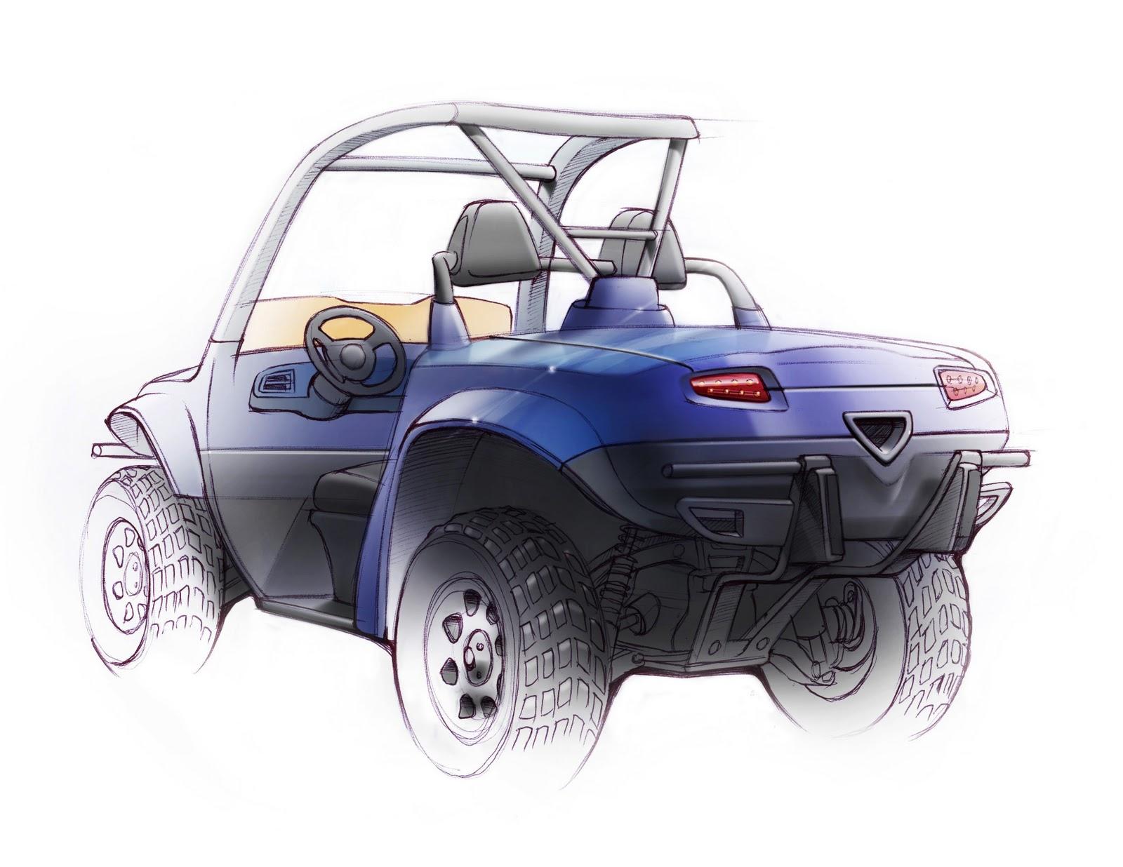 Yamaha rhino utv redesigned