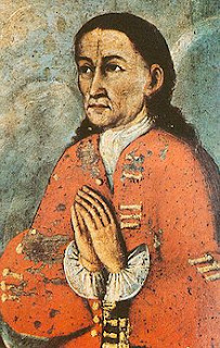 'Mateo Garca Pumacahua' (1740-1815) retrato sin informacin del autor tomado de wikipedia