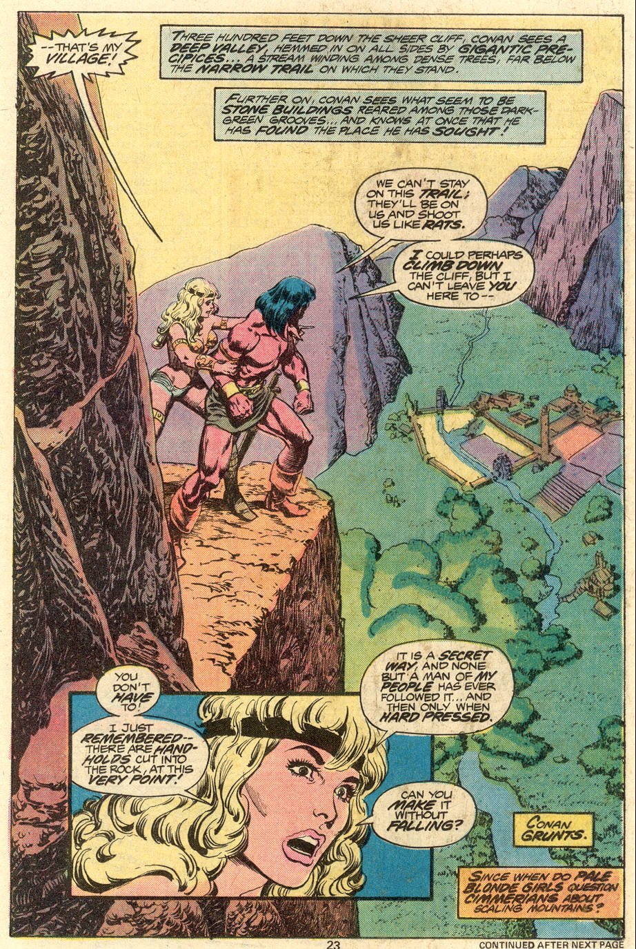 Conan the Barbarian (1970) Issue #79 #91 - English 14