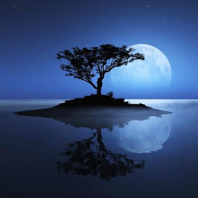 صور خلفيات ايباد لضوء القمر