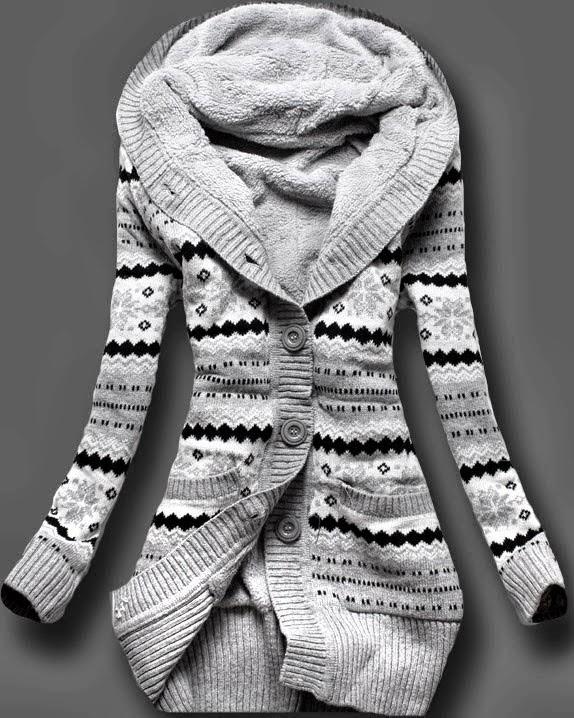 Norwegian Style, Adorable Full Sleeves Sweater