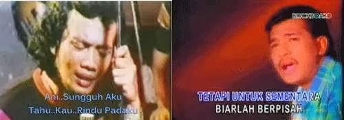 rhoma dan imam s arifin nyanyikan lagu sama tapi beda musik