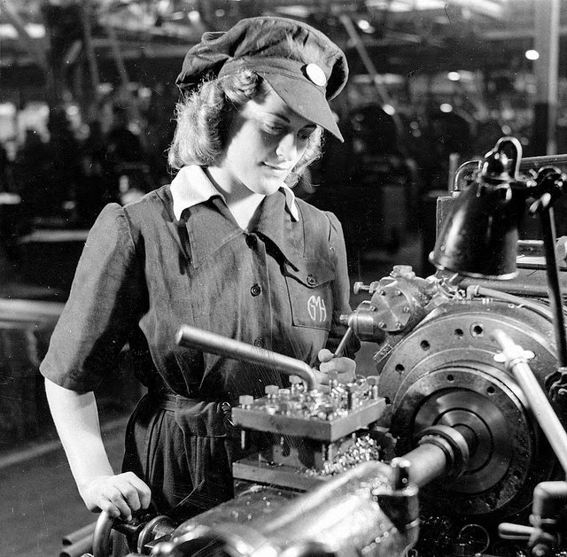 women working during world war 2 Women and teenage girls lived with far less scrutiny of their behavior during the war, and anxiety of world war ii) sympathetic women in working women were.