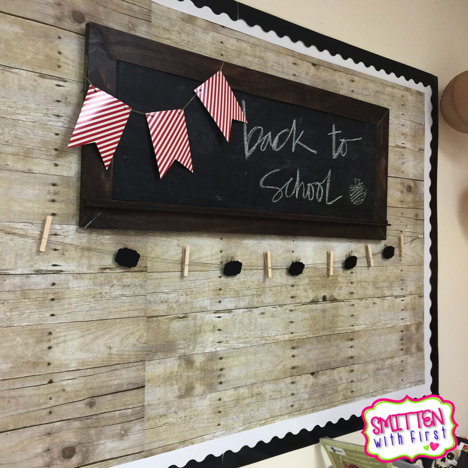 Classroom Decoration Wall Painting ~ Classroom tour with lots of freebies smitten first