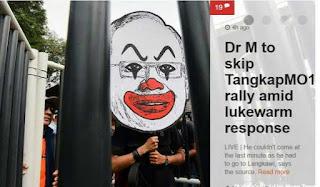 #TangkapMO1: Malaysiakini Memalukan Mahathir