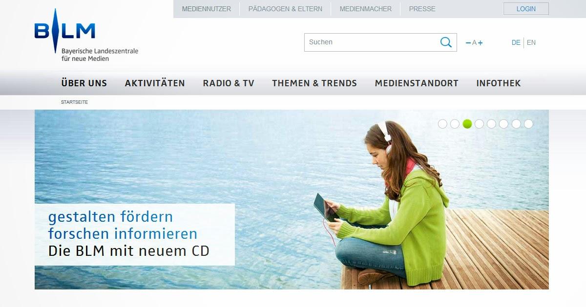 BLM relauncht Website mit CONTENS