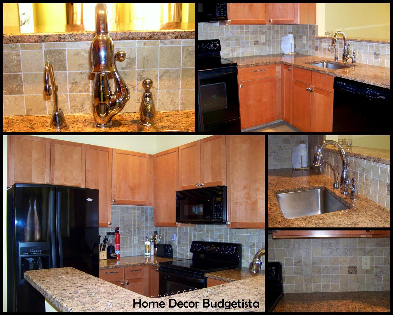 Home decor budgetista townhouse kitchen my first design for Townhouse kitchen designs