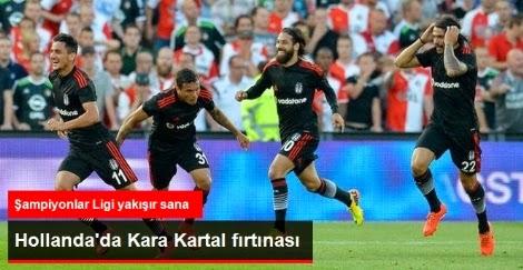 Beşiktaş Feyenoord'u Elerse Hangi Takımla Karşılaşacak?