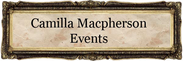 Camilla Macpherson Events