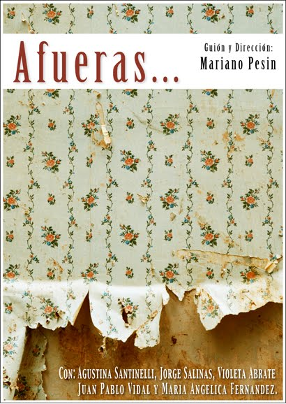Poster Afueras.  Estreno 5/7.  20h. Casa America Catalunya.