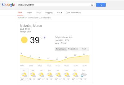 google weater