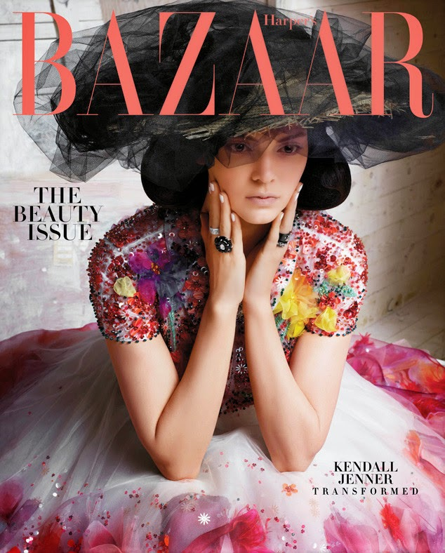 Fashion Model, TV Personality @ Kendall Jenner by Karl Lagerfeld for Harper's Bazaar, May 2015