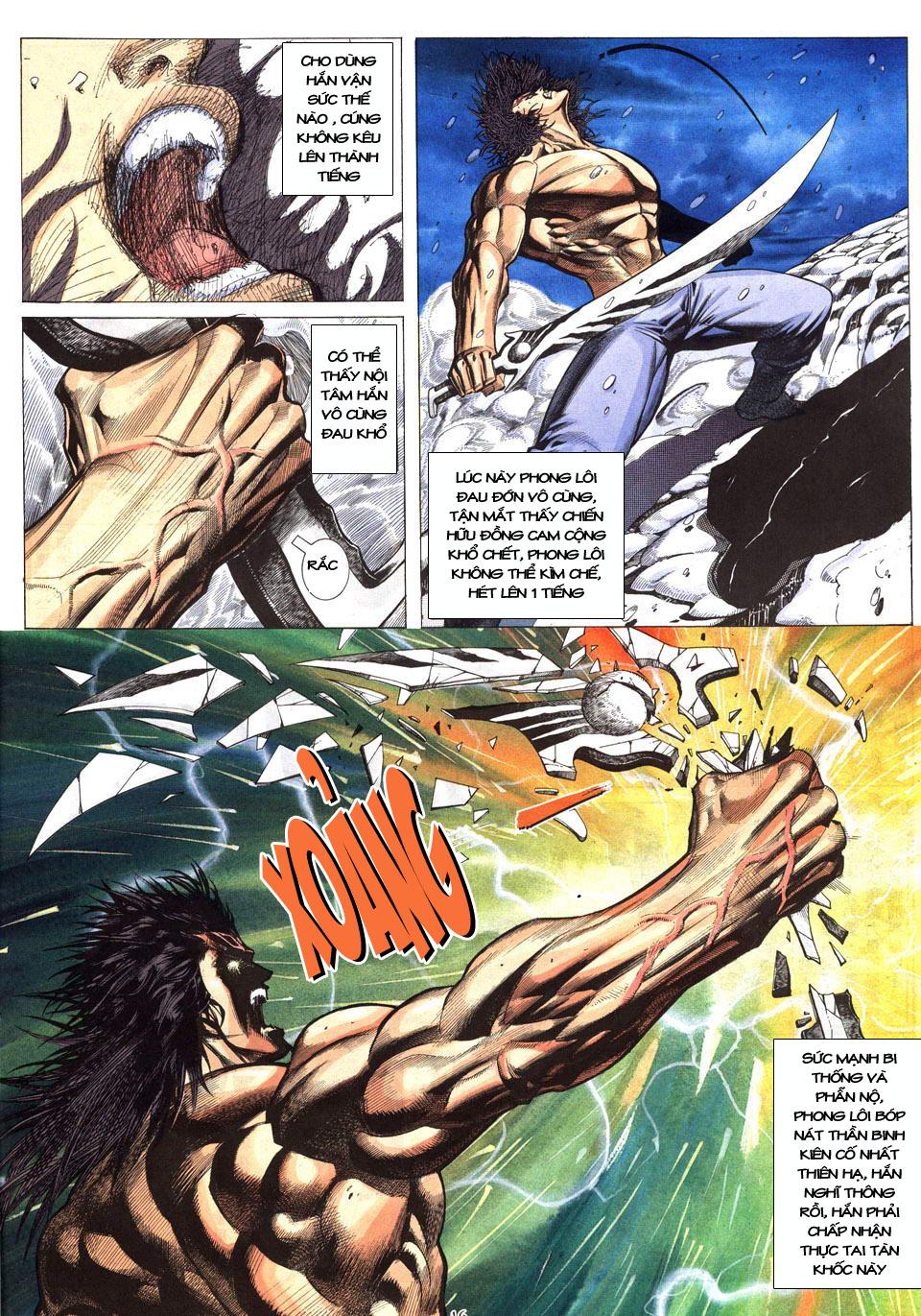 Phong Lôi chap 40 - Trang 17