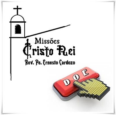 Doação para o Padre Ernesto Cardozo