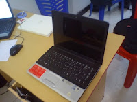 laptop bekas malang compaq presario CQ40