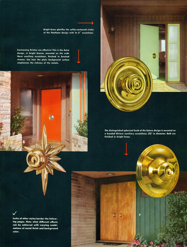 Attrayant Mid Century Door Knob Advertisement