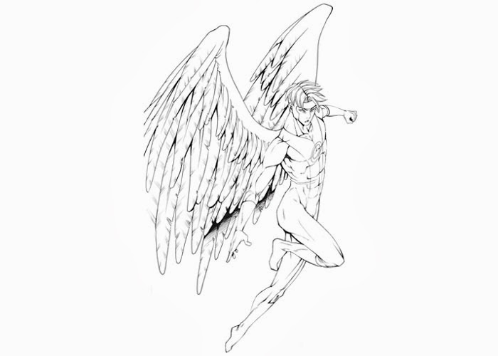 Archangel Coloring Pages