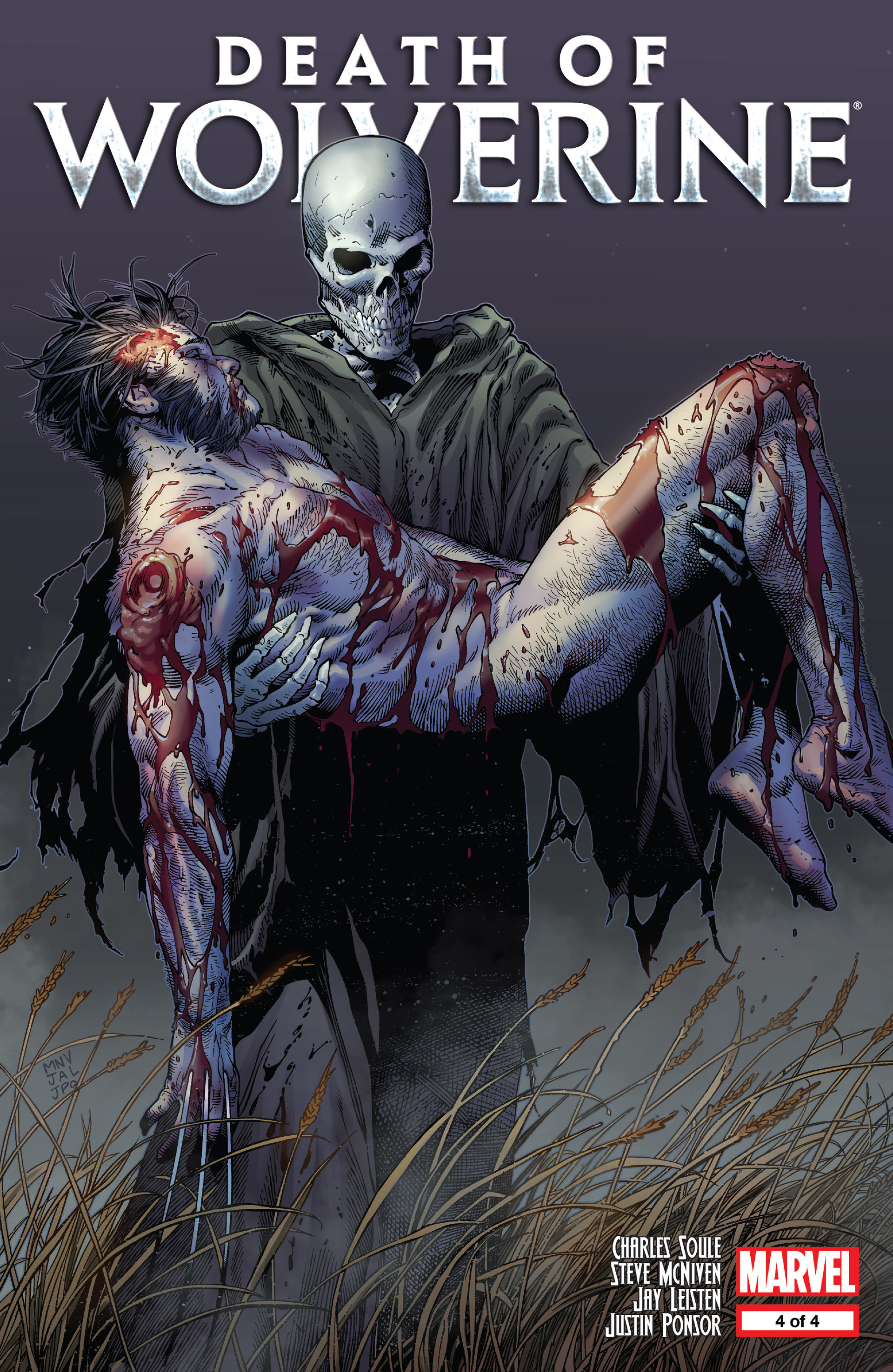 Death of Wolverine Issue #4 #4 - English 1